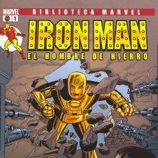 Cómics: BIBLIOTECA MARVEL IRON MAN. COLECCION COMPLETA: 28 TOMOS. FORUM PANINI .MUY BUEN ESTADO.. Lote 217144495