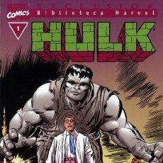 Comics: BIBLIOTECA MARVEL HULK. LA MASA. COLECCION COMPLETA: 36 TOMOS. FORUM PANINI .MUY BUEN ESTADO.. Lote 217144655