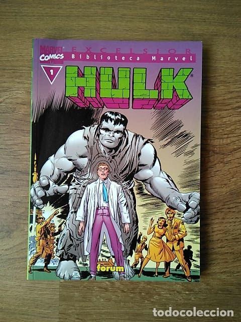 HULK - EXCELSIOR - VOLUMEN 1 - FORUM BIBLIOTECA MARVEL TOMO 140 PÁGINAS (Tebeos y Comics - Forum - Hulk)