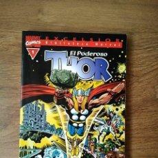 Cómics: THOR - EXCELSIOR - VOLUMEN 1 - FORUM BIBLIOTECA MARVEL TOMO 140 PÁGINAS. Lote 217157853