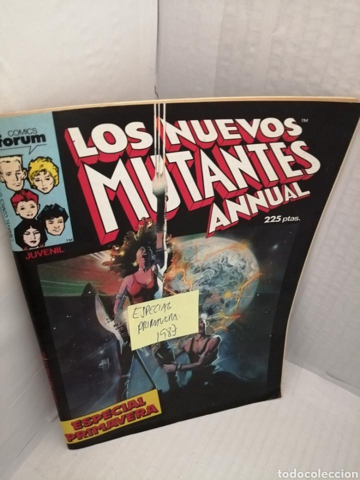 Cómics: LOS NUEVOS MUTANTES, Especial Primavera 1987 - Foto 3 - 217066727