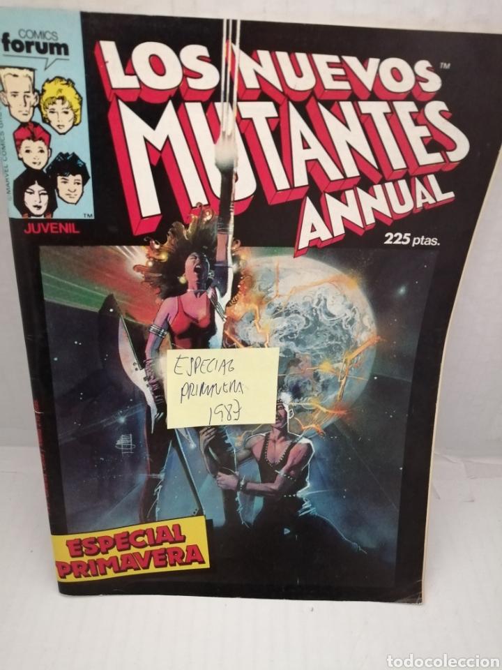 LOS NUEVOS MUTANTES, ESPECIAL PRIMAVERA 1987 (Tebeos y Comics - Forum - Nuevos Mutantes)