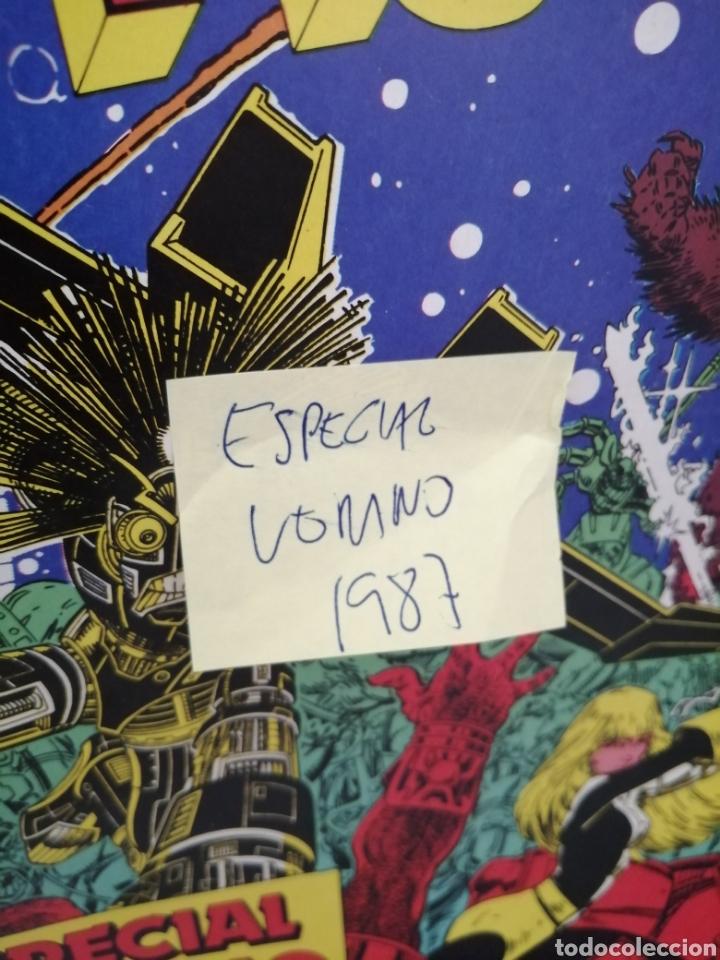 Cómics: LOS NUEVOS MUTANTES, Especial Verano 1987 - Foto 2 - 217066808