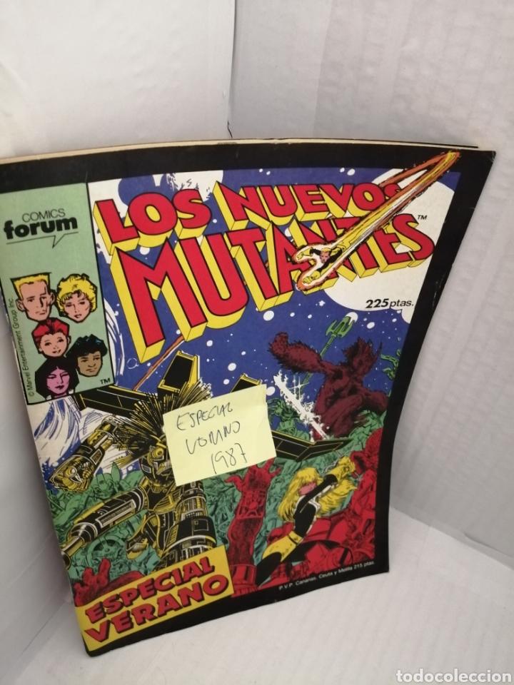Cómics: LOS NUEVOS MUTANTES, Especial Verano 1987 - Foto 3 - 217066808
