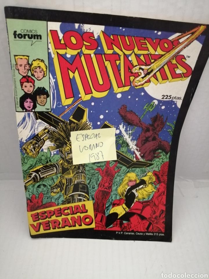 LOS NUEVOS MUTANTES, ESPECIAL VERANO 1987 (Tebeos y Comics - Forum - Nuevos Mutantes)