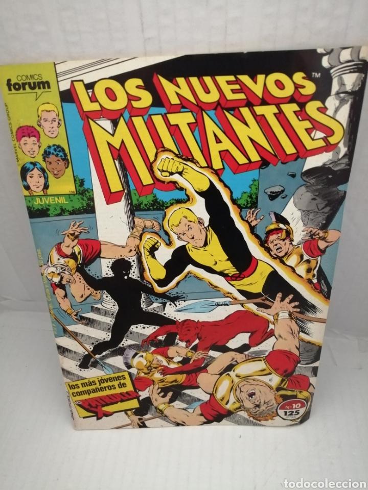 LOS NUEVOS MUTANTES, NUM 10 (Tebeos y Comics - Forum - Nuevos Mutantes)