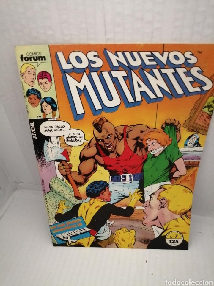 LOS NUEVOS MUTANTES, NUM 7 (Tebeos y Comics - Forum - Nuevos Mutantes)