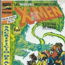 Comics : NUEVAS AVENTURAS X - MEN Nº 30 ÚLTIMO NUMERO FORUM. Lote 217256782