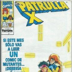 Cómics: LA PATRULLA X Nº 142 FORUM. Lote 217258043