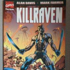 Comics : KILLRAVEN - LA GUERRA DE LOS MUNDOS (ALAN DAVIS). Lote 217312802