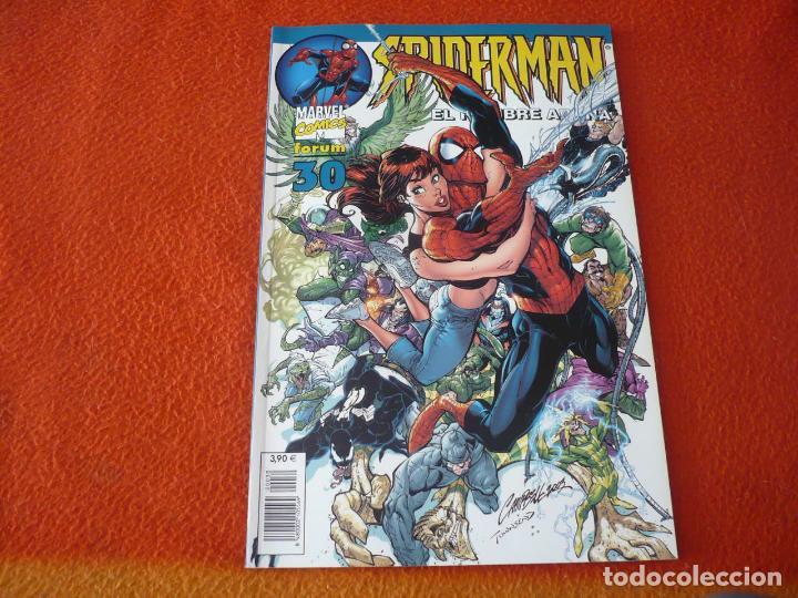 SPIDERMAN EL HOMBRE ARAÑA VOL 6 Nº 30 ( STRACZYNSKI ROMITA ZIMMERMAN ) MARVEL FORUM LOMO AZUL (Tebeos y Comics - Forum - Spiderman)