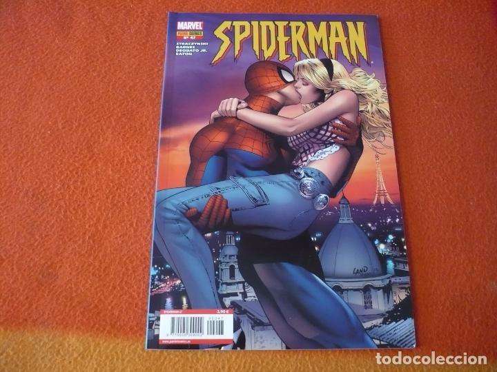 SPIDERMAN EL HOMBRE ARAÑA VOL 6 Nº 47 ( STRACZYNSKI DEODATO ) MARVEL FORUM LOMO AZUL GWEN STACY (Tebeos y Comics - Forum - Spiderman)