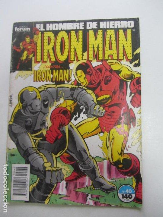 IRON MAN VOL 1 Nº 40 - FORUM MUCHOS MAS EN VENTA, MIRA TUS FALTAS C17X1 (Tebeos y Comics - Forum - Iron Man)