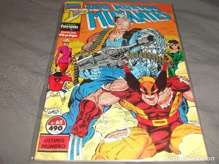 LOS NUEVOS MUTANTES 65 MUY BUEN ESTADO (Tebeos y Comics - Forum - Nuevos Mutantes)