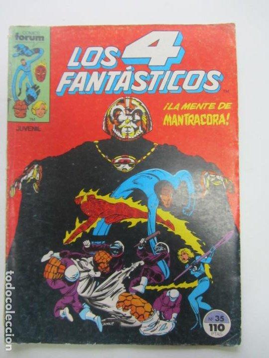 LOS 4 FANTASTICOS VOL 1 Nº 35 FORUM MAS EN VENTA, MIRA TUS FALTAS C17 HJJ (Tebeos y Comics - Forum - 4 Fantásticos)