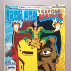 Cómics: IRON MAN-CAPITAN MARVEL Nº 42 FORUM. Lote 217442576