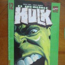 Cómics: EL INCREIBLE HULK - MARVEL COMICS - Nº 12. Lote 217507681