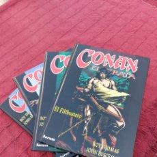 Cómics: CONAN EL PIRATA COMPLETA 4 TOMOS FORUM. Lote 217525457