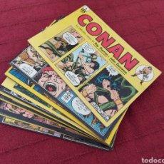 Cómics: CONAN TIRAS DE PRENSA COMPLETA 12 NUMEROS-LOS DAILY-STRIP COMICS. Lote 217529272
