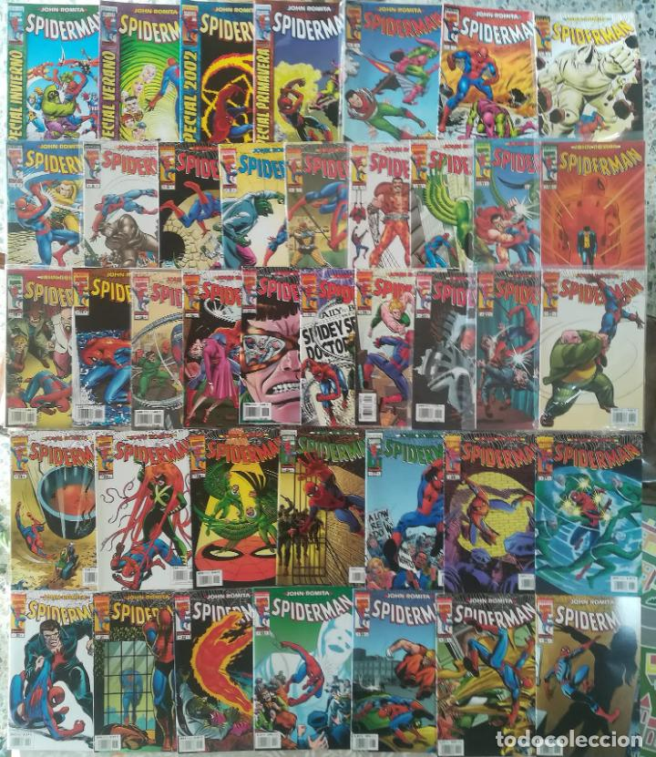 JOHN ROMITA SPIDERMAN DEL 1 AL 61 MAS EL 63 Y 64 MAS 4 ESPECIALES BUEN ESTADO (Tebeos y Comics - Forum - Spiderman)