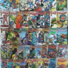 Cómics: SPIDERMAN JOHN ROMITA 1 AL 10, 12,13,15,20 AL 31, 33 AL 46 45 AL 55. Lote 217579881