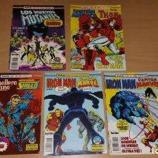 Cómics: 5 COMICS MARVEL TWO IN ONE 16 43 44 47 76 IRON MAN THOR CAPITAN AMERICA. Lote 217592677