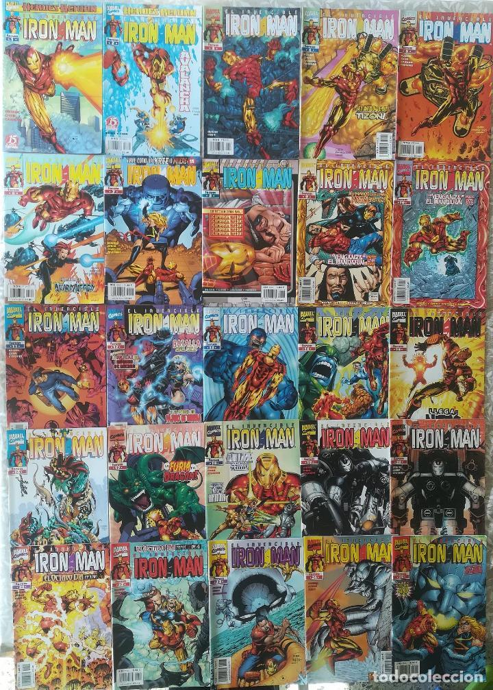 Cómics: IRON MAN VOL 2,3 4 COMPLETAS - Foto 2 - 217596037