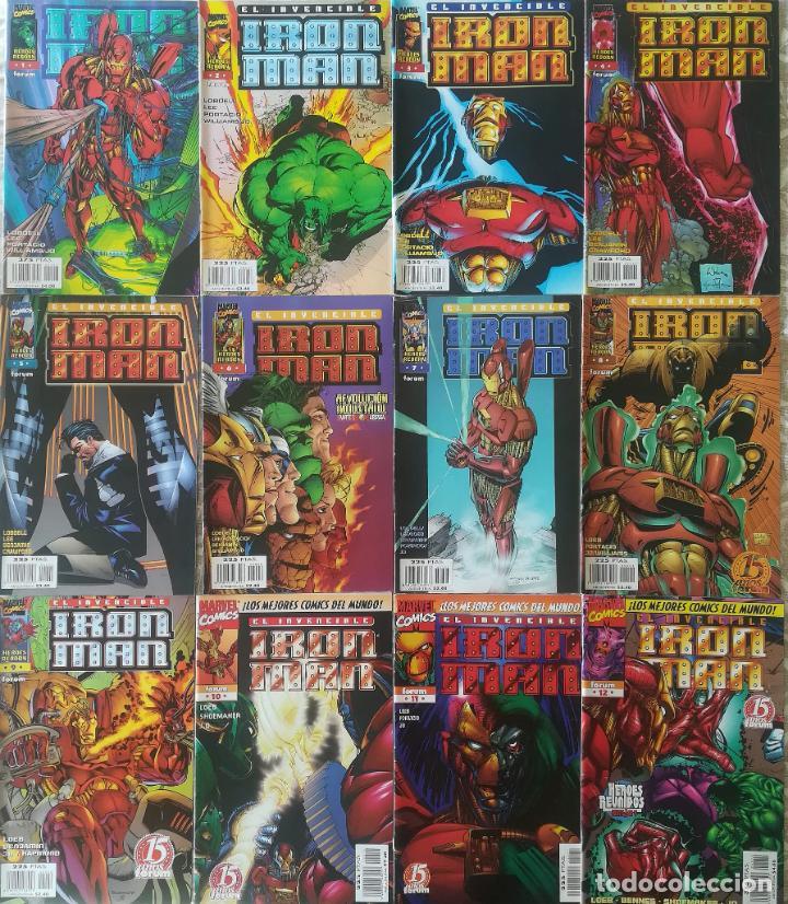 Cómics: IRON MAN VOL 2,3 4 COMPLETAS - Foto 3 - 217596037