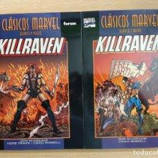Cómics: CLASICOS MARVEL BLANCO Y NEGRO - KILLRAVEN - FORUM. Lote 217602311