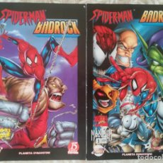 Cómics: SPIDERMAN BADROCK 1 Y 2. Lote 217621035