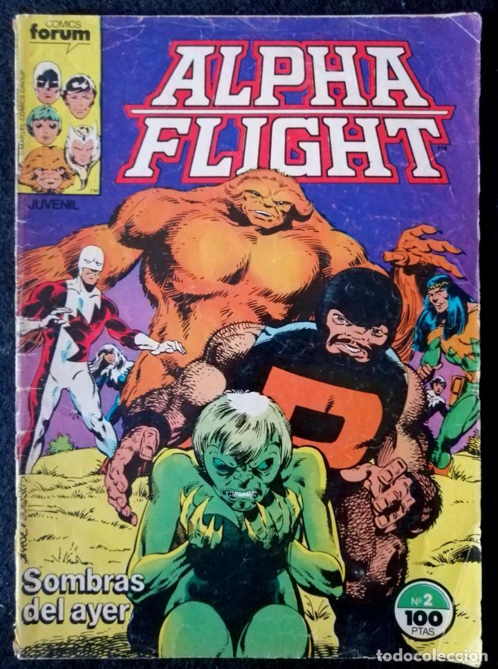 ALPHA FLIGHT VOL. 1 Nº 2 - FORUM (Tebeos y Comics - Forum - Alpha Flight)