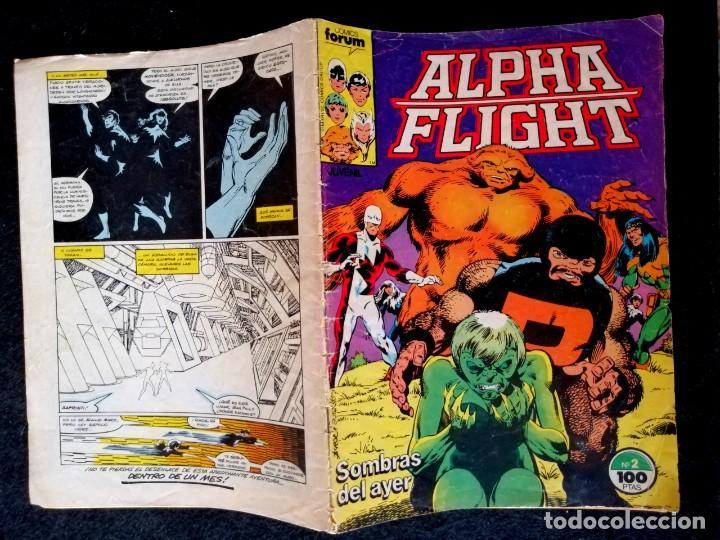 Cómics: ALPHA FLIGHT VOL. 1 Nº 2 - FORUM - Foto 2 - 217690342