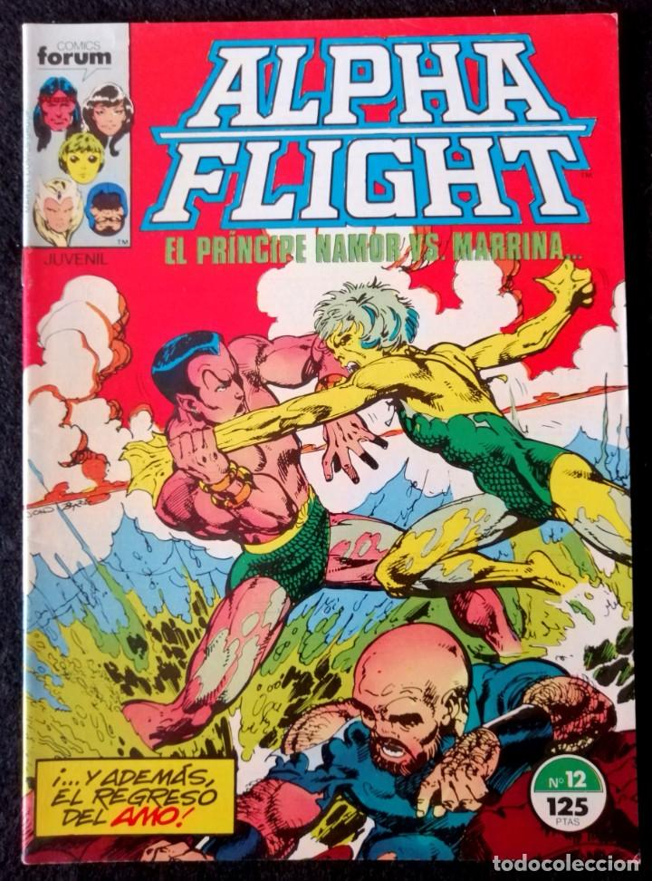 ALPHA FLIGHT VOL. 1 Nº 22 - FORUM ''BUEN ESTADO'' (Tebeos y Comics - Forum - Alpha Flight)