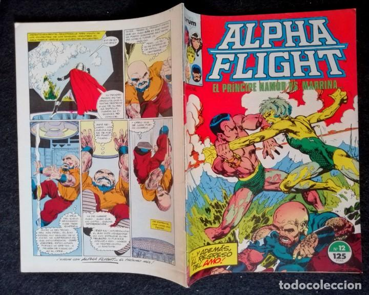 Cómics: ALPHA FLIGHT VOL. 1 Nº 22 - FORUM BUEN ESTADO - Foto 2 - 217690588