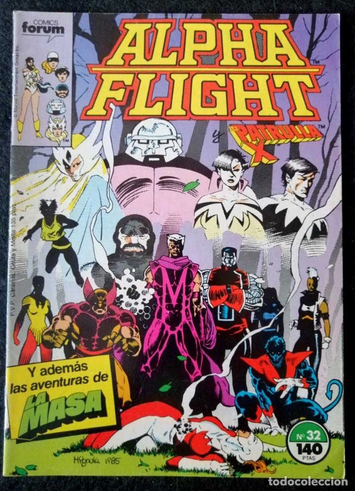 ALPHA FLIGHT VOL. 1 Nº 32 - FORUM ''BUEN ESTADO'' (Tebeos y Comics - Forum - Alpha Flight)