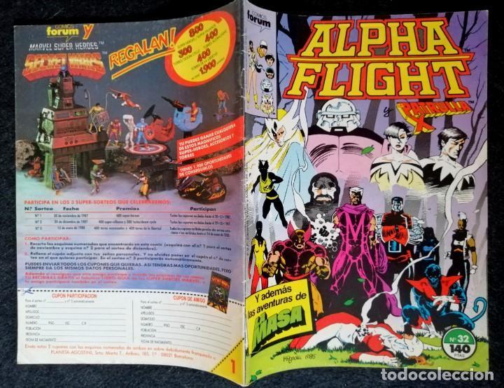 Cómics: ALPHA FLIGHT VOL. 1 Nº 32 - FORUM BUEN ESTADO - Foto 2 - 217690945