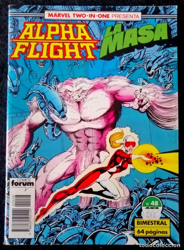 ALPHA FLIGHT VOL. 1 Nº 48 - FORUM ''BUEN ESTADO'' (Tebeos y Comics - Forum - Alpha Flight)