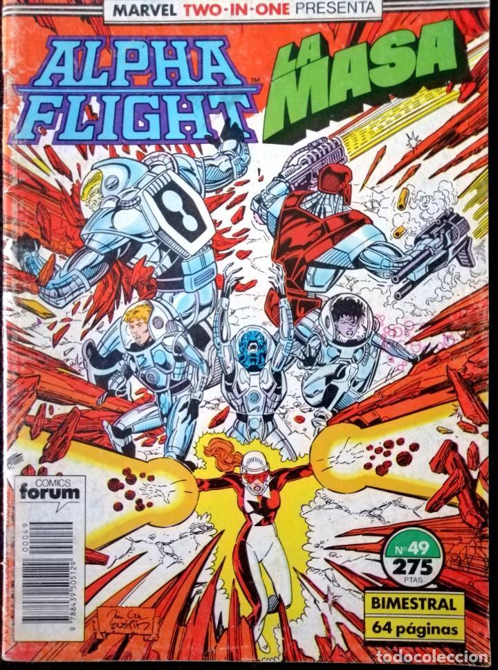 ALPHA FLIGHT VOL. 1 Nº 49 - FORUM (Tebeos y Comics - Forum - Alpha Flight)