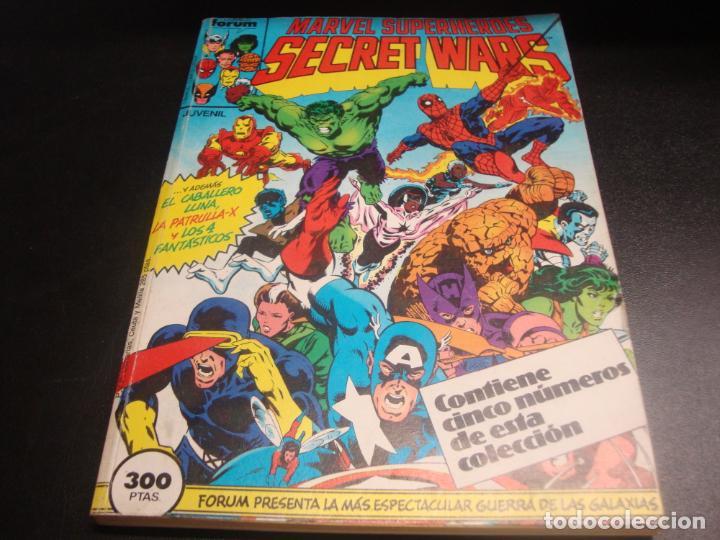 SECRET WARS DEL 1 AL 5 RETAPADO (Tebeos y Comics - Forum - Retapados)