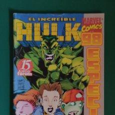 Cómics: EL INCREÍBLE HULK Nº98,MARVEL COMICS,FORUM. Lote 217885028