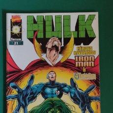 Cómics: EL INCREÍBLE HULK Nº21,MARVEL COMICS,FORUM. Lote 217885212