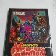 Cómics: LA PATRULLA -X PROYECTO EXTERMINIO ESTADO MUY BUENO MAS ARTICULOS. Lote 217885691