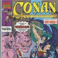 Cómics: CONAN EL BARBARO Nº 183 FORUM. Lote 217929718