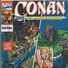 Cómics: CONAN EL BARBARO Nº 187 FORUM. Lote 217929882