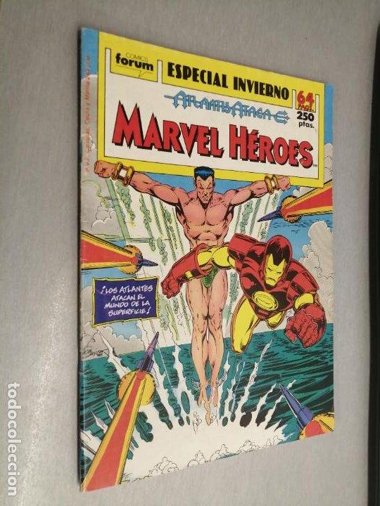 MARVEL HÉROS ESPECIAL INVIERNO 1989 / MARVEL - FORUM (Tebeos y Comics - Forum - Otros Forum)