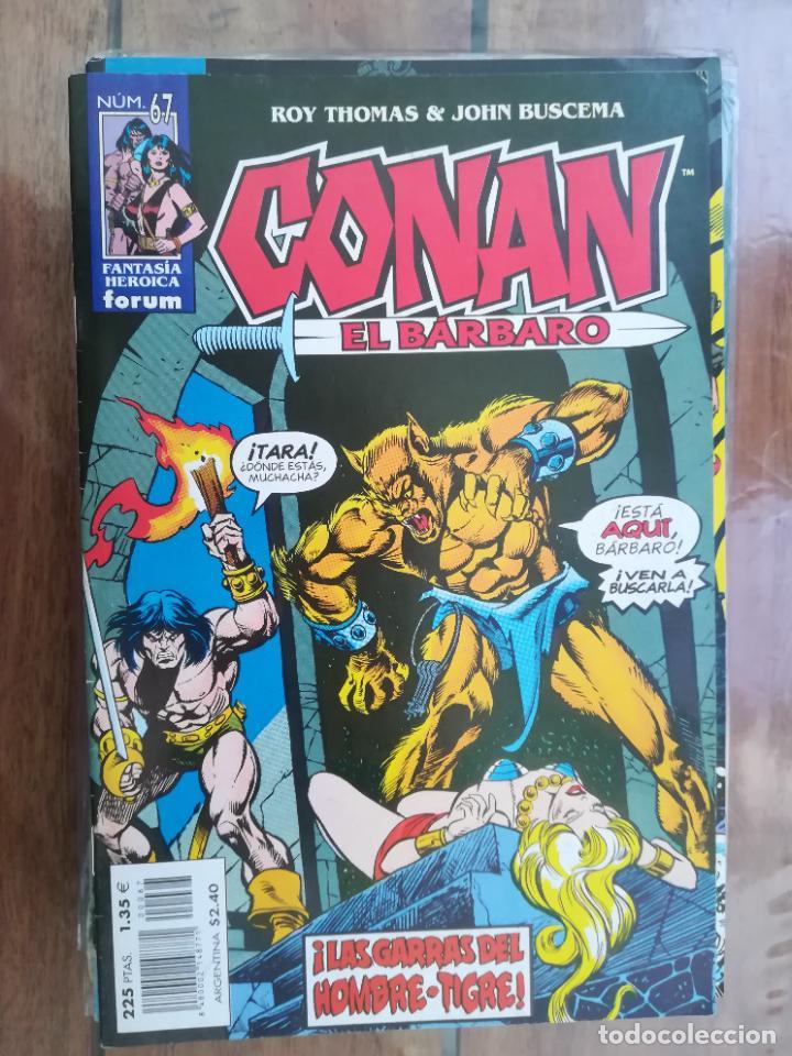 CONAN EL BÁRBARO. Nº 67. EDICIÓN CRONOLÓGICA. FORUM (Tebeos y Comics - Forum - Conan)