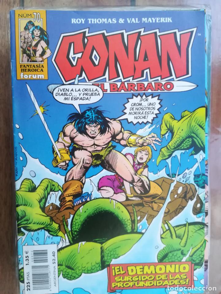 CONAN EL BÁRBARO. Nº 70. EDICIÓN CRONOLÓGICA. FORUM (Tebeos y Comics - Forum - Conan)