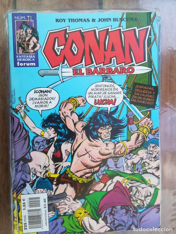 CONAN EL BÁRBARO. Nº 71. EDICIÓN CRONOLÓGICA. FORUM (Tebeos y Comics - Forum - Conan)