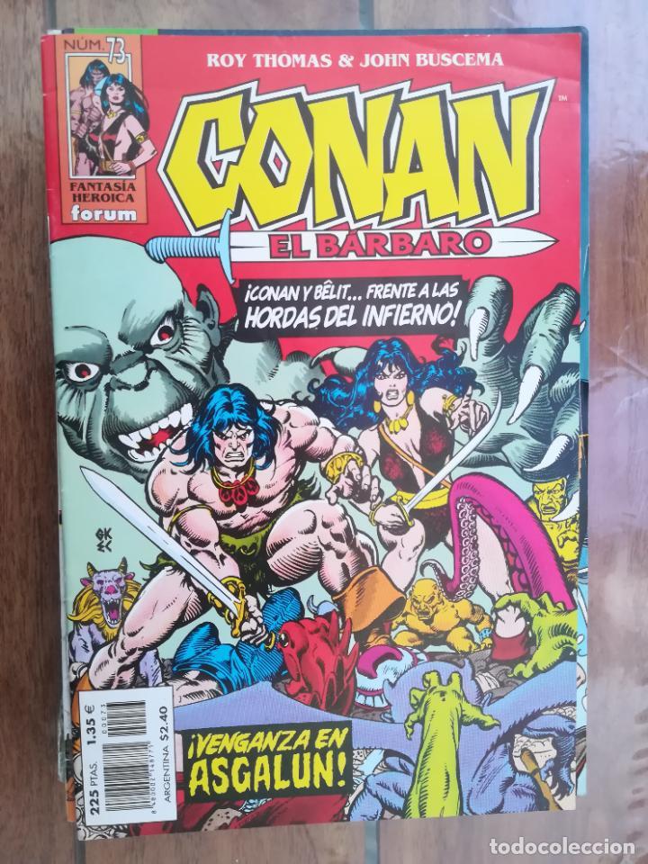 CONAN EL BÁRBARO. Nº 73. EDICIÓN CRONOLÓGICA. FORUM (Tebeos y Comics - Forum - Conan)