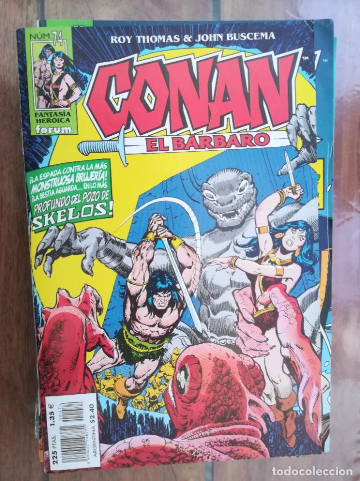 CONAN EL BÁRBARO. Nº 74. EDICIÓN CRONOLÓGICA. FORUM (Tebeos y Comics - Forum - Conan)